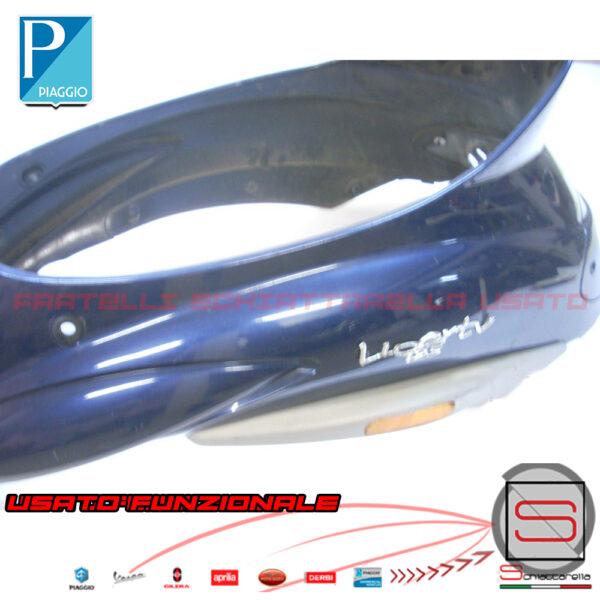 Fascia Carena Sotto Sella Originale Piaggio Liberty Rst Blu 204 204-A Imperiale 62119400D9 621194 Fiancata