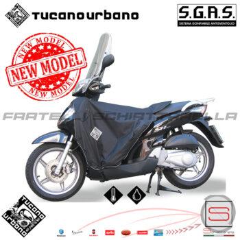 R049_N_Coprigambe Termoscud Termoscudo Coperta Tucano Urbano Sportcity Sh Ie Sym Hd R049-N Riparo Antipioggia Honda1