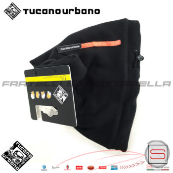 Collare Cappello Scaldacollo In Pile Moto Scooter Neve Tucano Urbano 614-N Pile Antivento