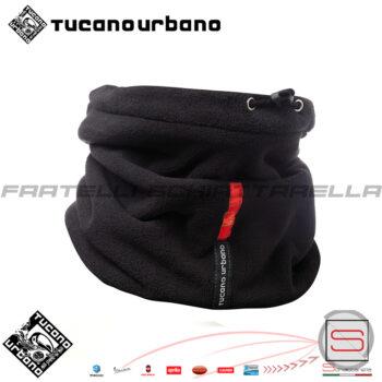 Collare-Cappello-Scaldacollo-In-Pile-Moto-Scooter-Neve-Tucano-Urbano-614-N-Pile-Antivento secondo