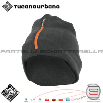 Collare-Cappello-Scaldacollo-In-Pile-Moto-Scooter-Neve-Tucano-Urbano-614-N-Pile-Antivento secondo