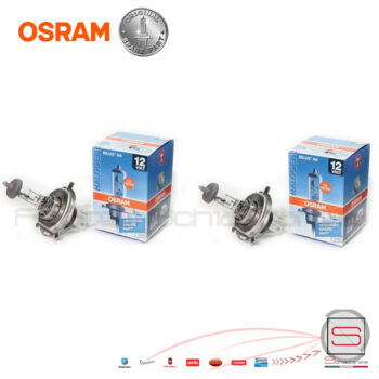 OSRAM-Halogene-Coppia-Due-Luci-Lampadine-H4-h4-Original-Spare-part