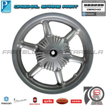 563235 Cerchio Ruota Mozzo Posteriore Originale Piaggio Free 100 Liberty 125