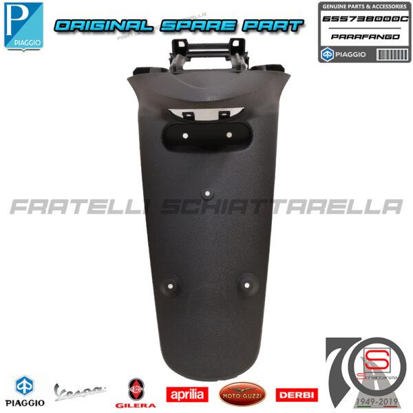 Parafango Portatarga Paraspruzzi Posteriore Originale Piaggio Liberty Moc 50 125 150 655738000C Paraspruzzi 2T 4T (2)