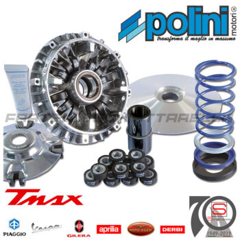 241696 Variatore Polini Multivar Yamaha T-Max 500 12 Rulli