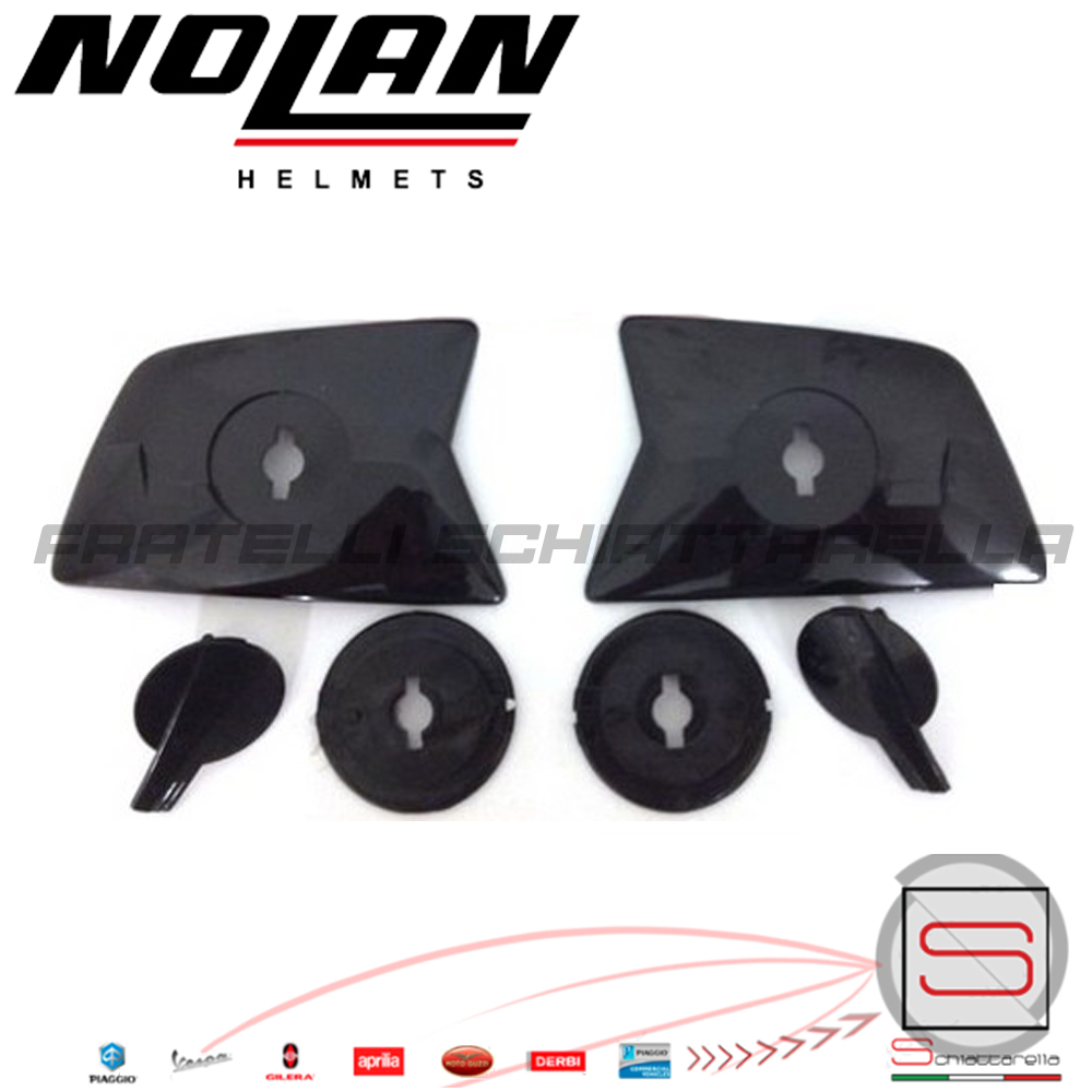 Placchette Laterali Movimento Visiera Casco Integrale Nolan N35 Stream Wing