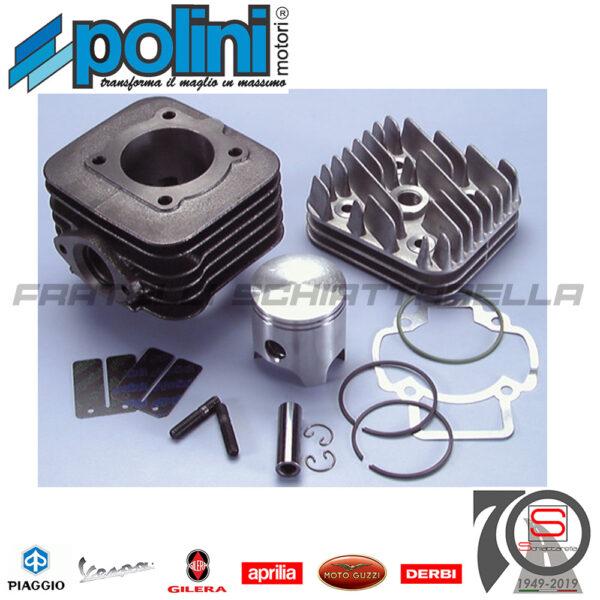 Kit Gruppo Termico Polini Aria Dm 47 Ghisa Piaggio Gilera Free Zip Et2 1400181