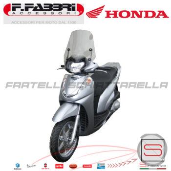 2353LD Cupolino Fumè Parabrezza Basso Fabbri Honda Sh 300 Dal 2007-2011