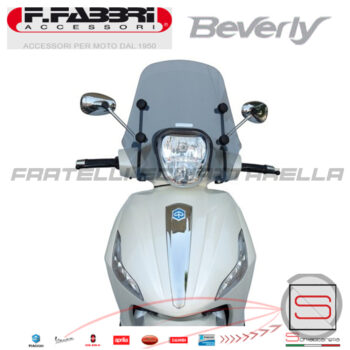 2778LD Cupolino Fumè Parabrezza Basso Fabbri Beverly 125-300-350 Dal 2010-2015 cln_19_2778_1