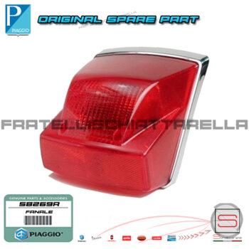 Fanale Fanalino Posteriore Completo Originale Piaggio Vespa Px dal 2001 Freno Disco 58269R 583081 Stop