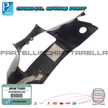 Coperchio Anteriore Manubrio Portafaro Originale Piaggio Zip 915700 9177005 9158785