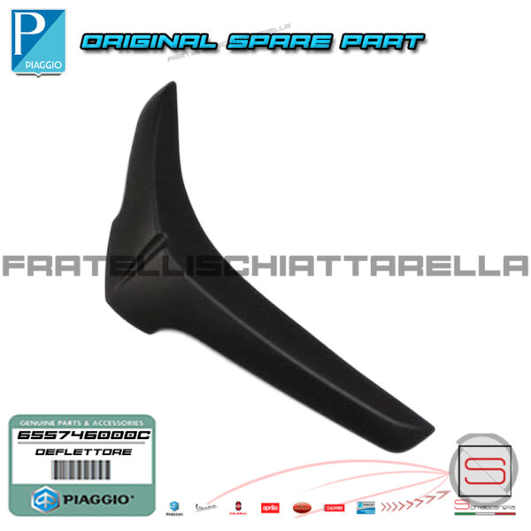 Deflettore Bordo Scudo Sinistro Originale Piaggio Liberty Moc 50 125 150 655746000C 655746