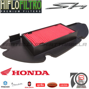 Filtro Aria Elemento Filtrante Honda Sh 125-150 Dal 2004-052012 100601131 17210KGF901 17210KGF900 E1711120 E1711120WS HFA1112WS