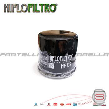 Filtro Cartuccia Olio Motore HF138 Aprilia Rsv Suzuki Gsx Gsf Sv Kymco E1713800 260138 HF138