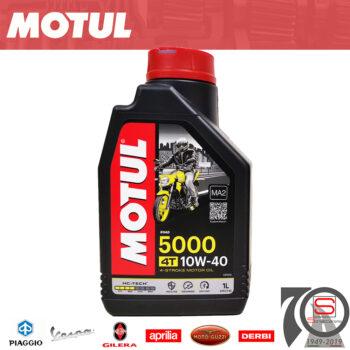 Lubrificante Olio Motore 4 Tempi 10W40 10W 40 Motul 5000 3374650246963 104054
