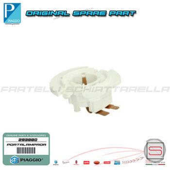 Portalampada Proiettore Faro Per Lampada BA20D Piaggio Liberty 50 293880 AP8224106