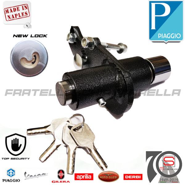 Antifurto Piastra Bloccaruota Bloccaruote Liberty Iget 125-150 dal 2015 Bloccadisco Meccanico System A1006