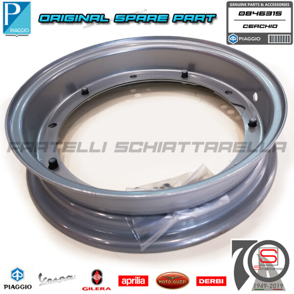 Cerchio Cerchione Originale Vespa Px Pk Xl Special Et3 Gl Sprint Ts Rally 0846315 08463110190225000010