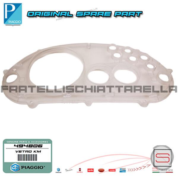 Coperchio Vetro Trasparente Contachilometri Km Originale Gilera Runner 494806 494893