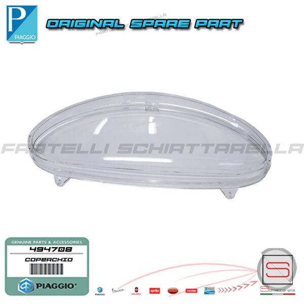 Coperchio Vetro Trasparente Contachilometri Km Piaggio Liberty 494708 Cruscotto