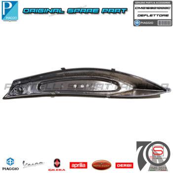 Deflettore Fianchetto Laterale Sinistro Originale Piaggio Beverly 125 250 CM016903000C Satinato Protezione Fiancata Posteriore