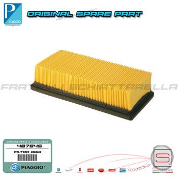 Filtro Aria Originale Piaggio X9 Super Hexagon Gilera Nexus 125 500487845 Filtro Aria Cartuccia