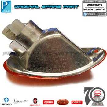 Freccia Indicatore Posteriore Destro Originale Piaggio Vespa Et2 Et4 293604 583632 581085