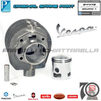 Kit Cilindro Pistone Gruppo Termico Originale Piaggio Vespa PX 150cc 244172 123
