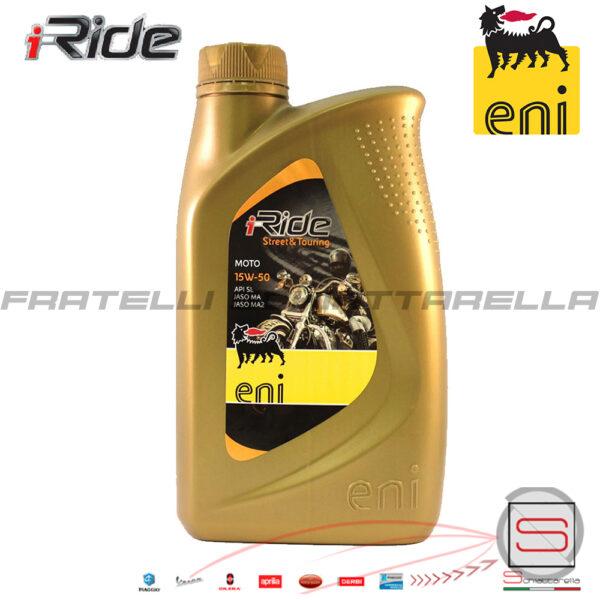Lubrificante Olio Motore Agip Eni I Ride 15W50 15w 50 115991 143691 4T 4 Tempi 8003699008717 151198