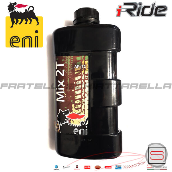 Lubrificante Olio Motore Miscela Agip Eni Mix 2T Minerale 140191 8003699004719