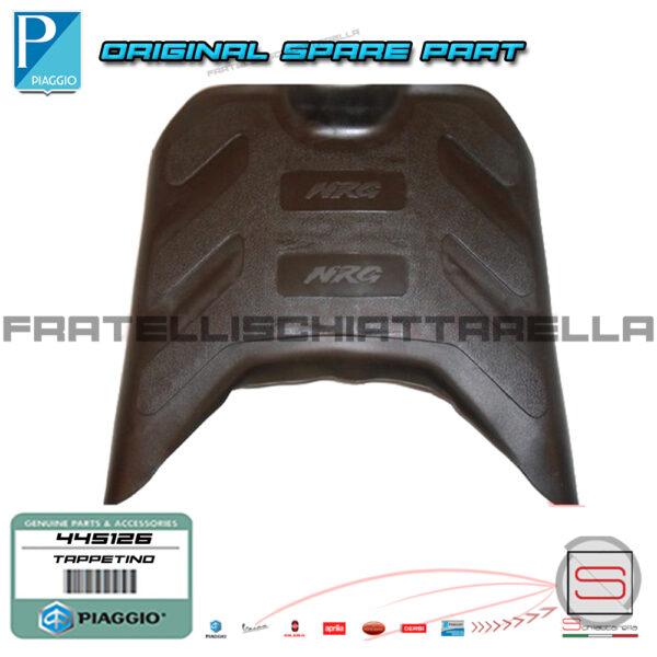 Tappeto Tappetino Pedana Originale Piaggio NRG 445126 pedanina gomma