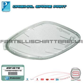 Trasparente Lente Proiettore Faro Sinistro Original Piaggio Nrg Mc2 96-98 294676 Gemma Coperchio Vetro