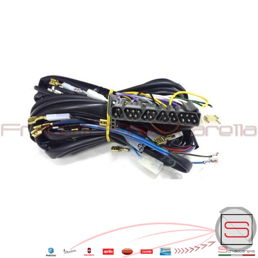 Impianto Elettrico Vespa Pk Xl : Impianto cablaggio cavi elettrici piaggio vespa px