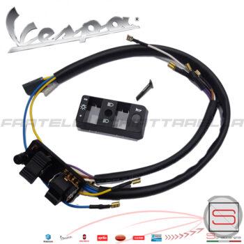 Commutatore Deviatore Luci Piaggio Vespa Px Arcobaleno Eq 232240 (2)