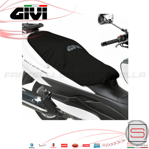S210 COPRISELLA SELLA GIVI SCOOTER PIAGGIO BEVERLY CRUISER 500 IMPERMEABILE