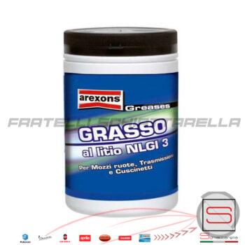 Barattolo Grasso Al Litio Multiuso Cuscinetti Mozzi Trasmissioni NLGI 3 Arexons