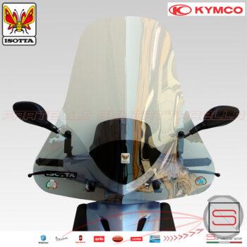 e604 Parabrezza Paravento Con Attacchi Isotta Kymco Agility 50 125 Dal 2008