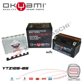 E07055 Batteria Accumulatore Okyami YTZ10S-BS