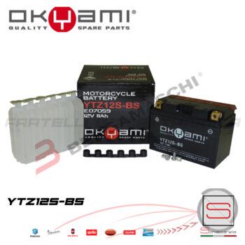 E07059 Batteria Accumulatore Okyami YTZ12S-BS
