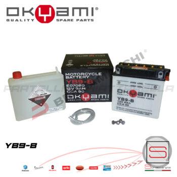 E07090 Batteria Accumulatore Okyami YB9-B
