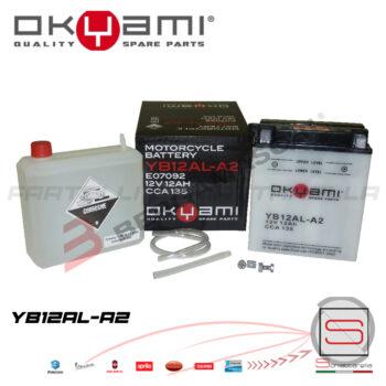 E07092 Batteria Accumulatore Okyami YB12AL-A2