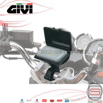 S601 Portatelepass Moto Con Supporto al Manubrio Givi