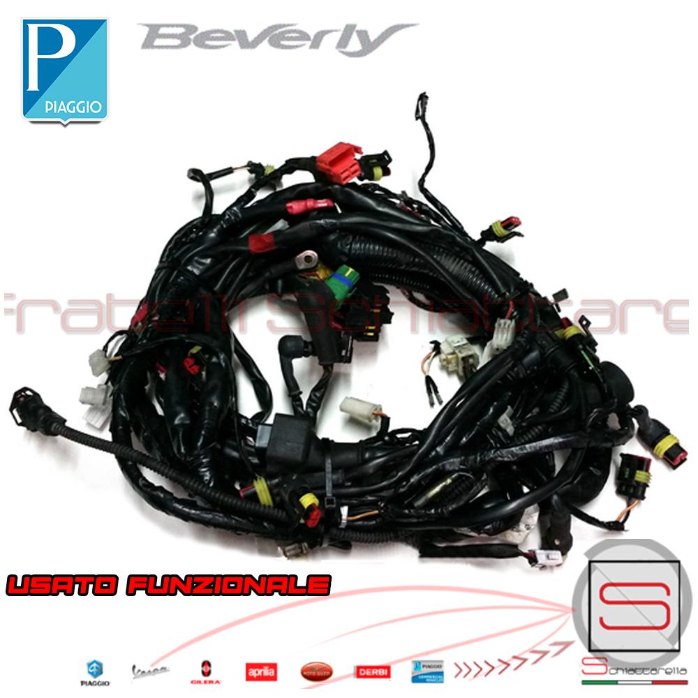 Schema Elettrico Zip Fast Rider : Impianto elettrico cablaggio cavi elettrici beverly sport