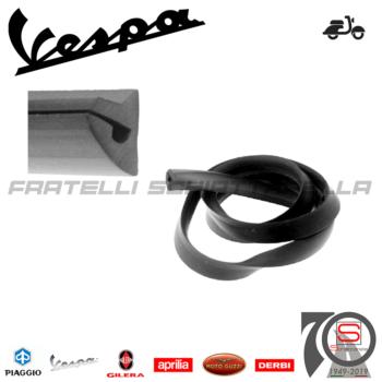 142640120 196232 Guarnizione Profilo Gomma 110cm Scocca Cofano Piaggio Vespa Px