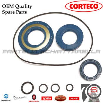 Kit Paraoli + O-Ring Corteco Blu Revisione Motore Piaggio Vespa Px 125-150 Sim 154817 1548185699-C 431122 431121 130536 017781