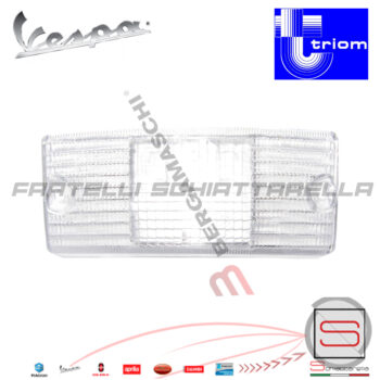 T209522 T209523 Trasparente Freccia Anteriore Vespa Px