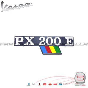 Targhetta Cofano Scocca Laterale Px 200 E Arcobaleno Piaggio Vespa 226735 5792 142720730