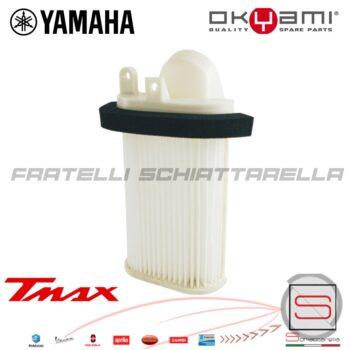 100602361 E17587 Filtro Aria Sinistro Coperchio Carter Motore Destro Yamaha T-Max 500 2001-2007