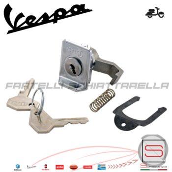 121790142 Serratura Zadi Chiave Metallo Bauletto Vespa Px Et3 Rally Eq 139379
