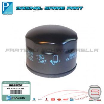 82960R Filtro Cartuccia Olio Motore Piaggio Beverly X8 400-500